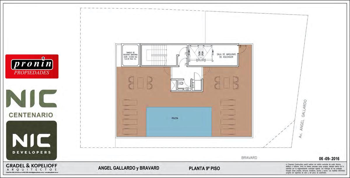 Foto Edificio en P.Centenario             Av Angel Gallardo y Bravard           número 5