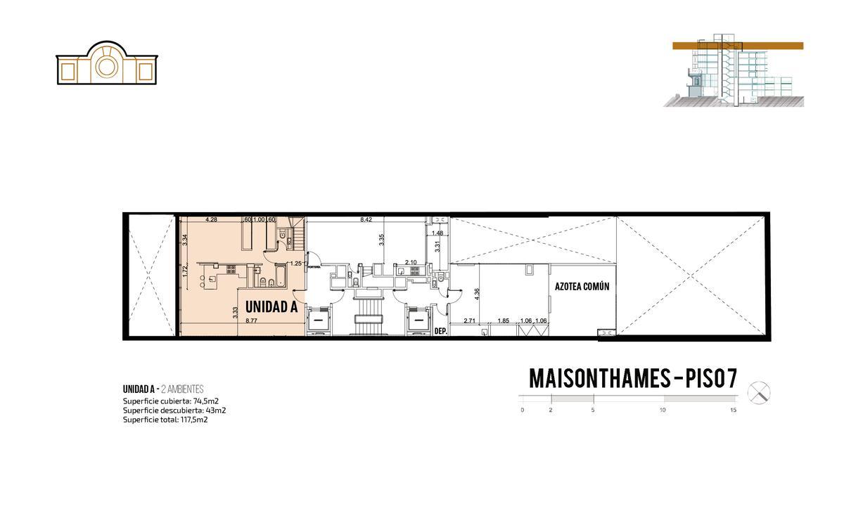 Foto Edificio en Palermo Thames 2400 número 12