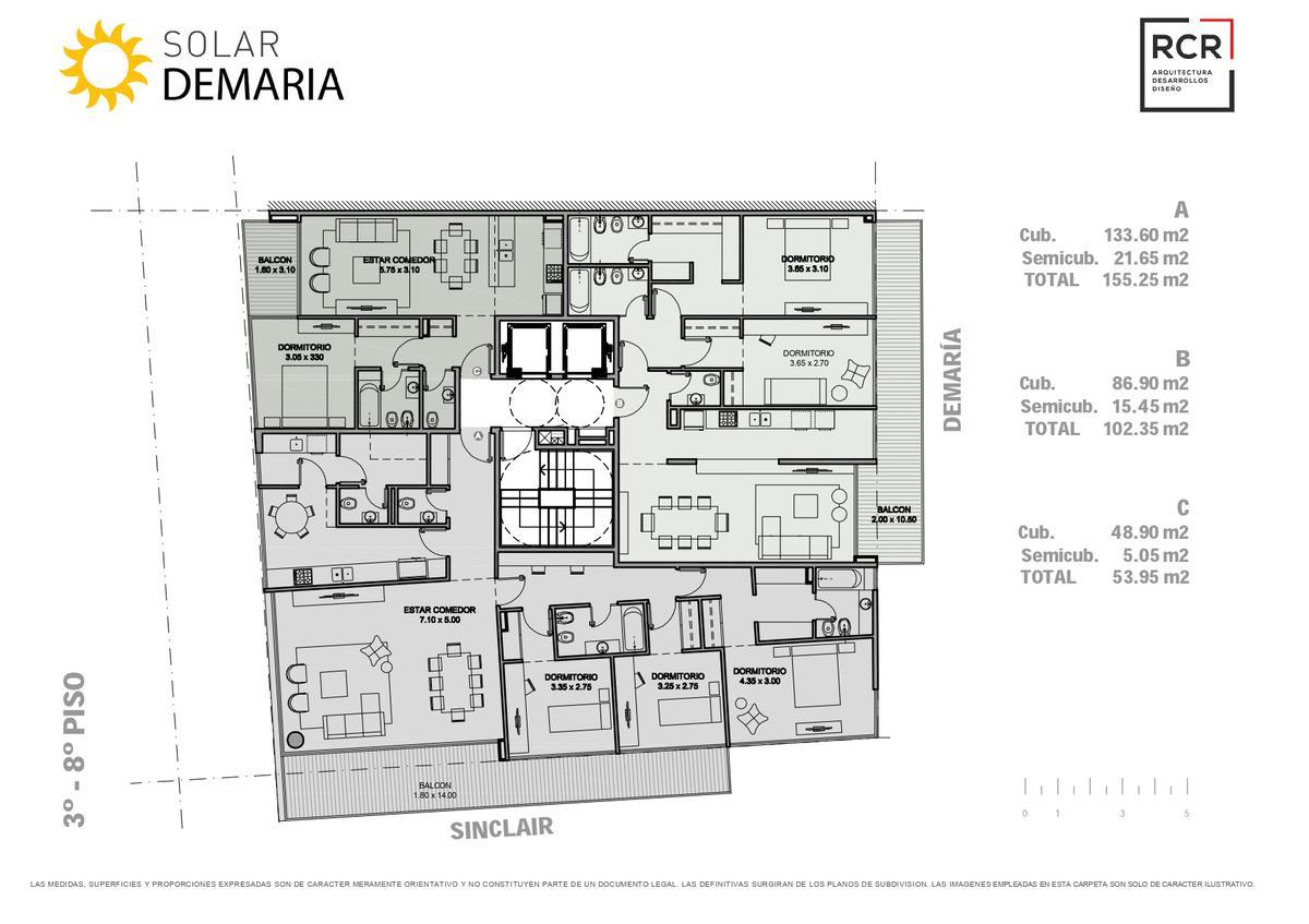 Foto Edificio en Palermo Nuevo Demaría y Sinclair número 8