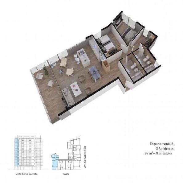 Foto Edificio en Constitucion Constitución 3200 número 9