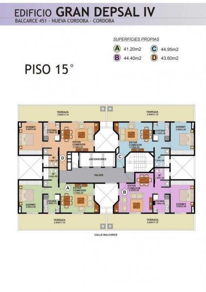 Foto Edificio en Nueva Cordoba Balcarse 451 número 6