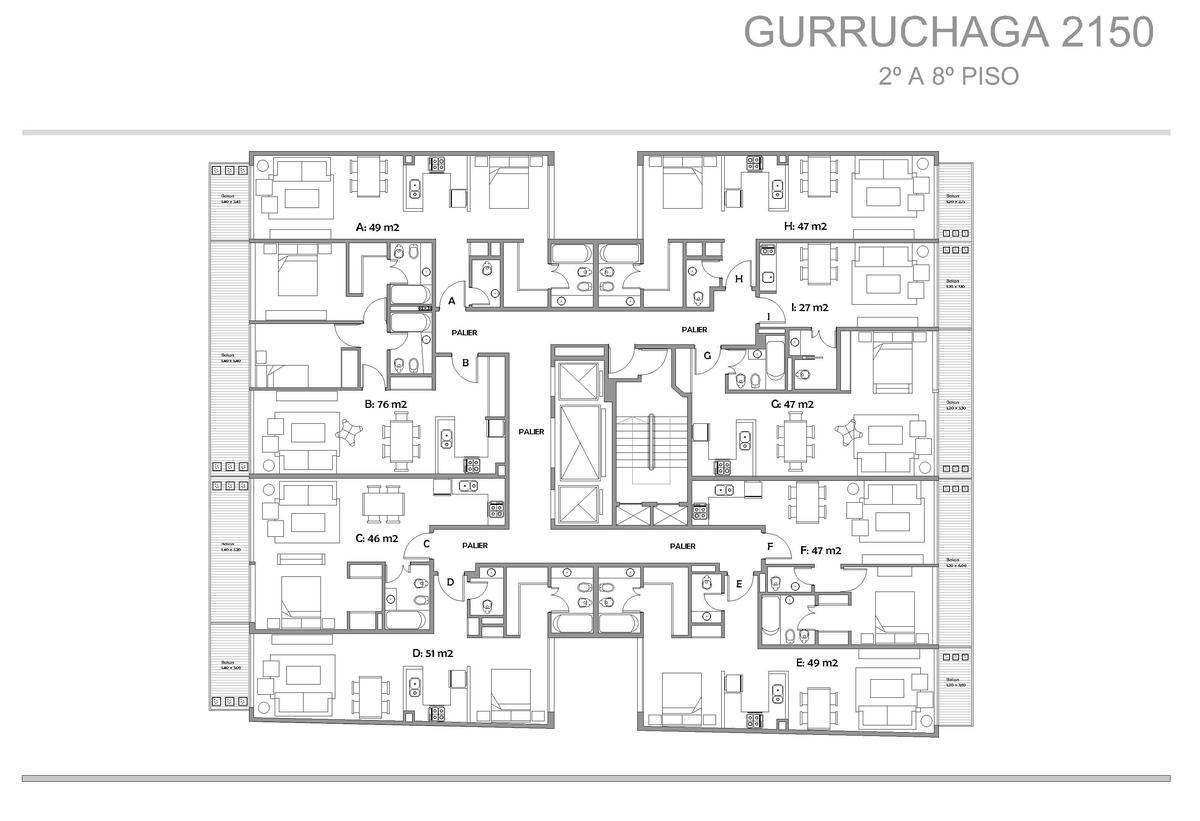 Foto Edificio en Palermo Gurruchaga y Paraguay numero 5