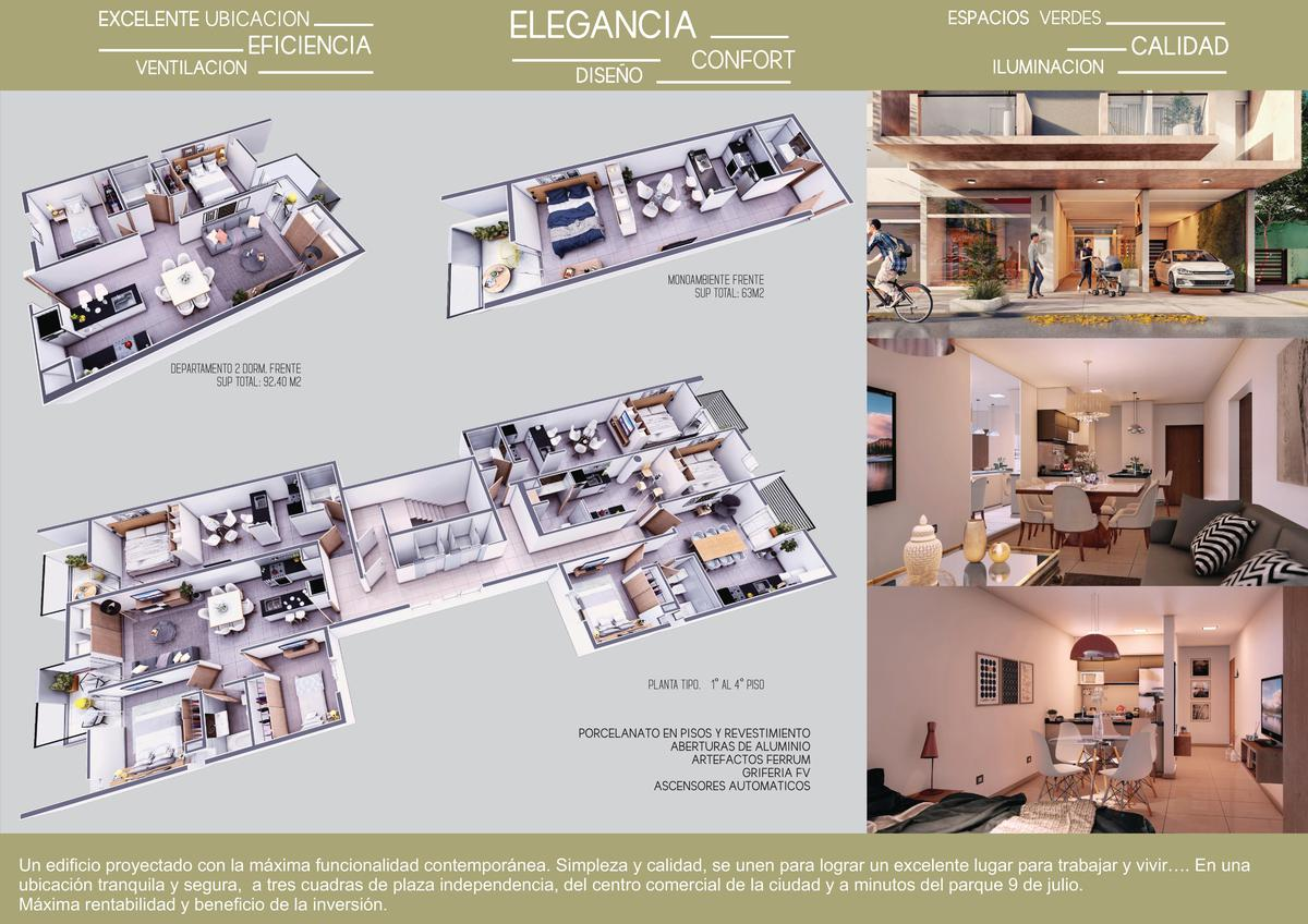 Foto Edificio en San Miguel De Tucumán         Entre Rios 146       número 1