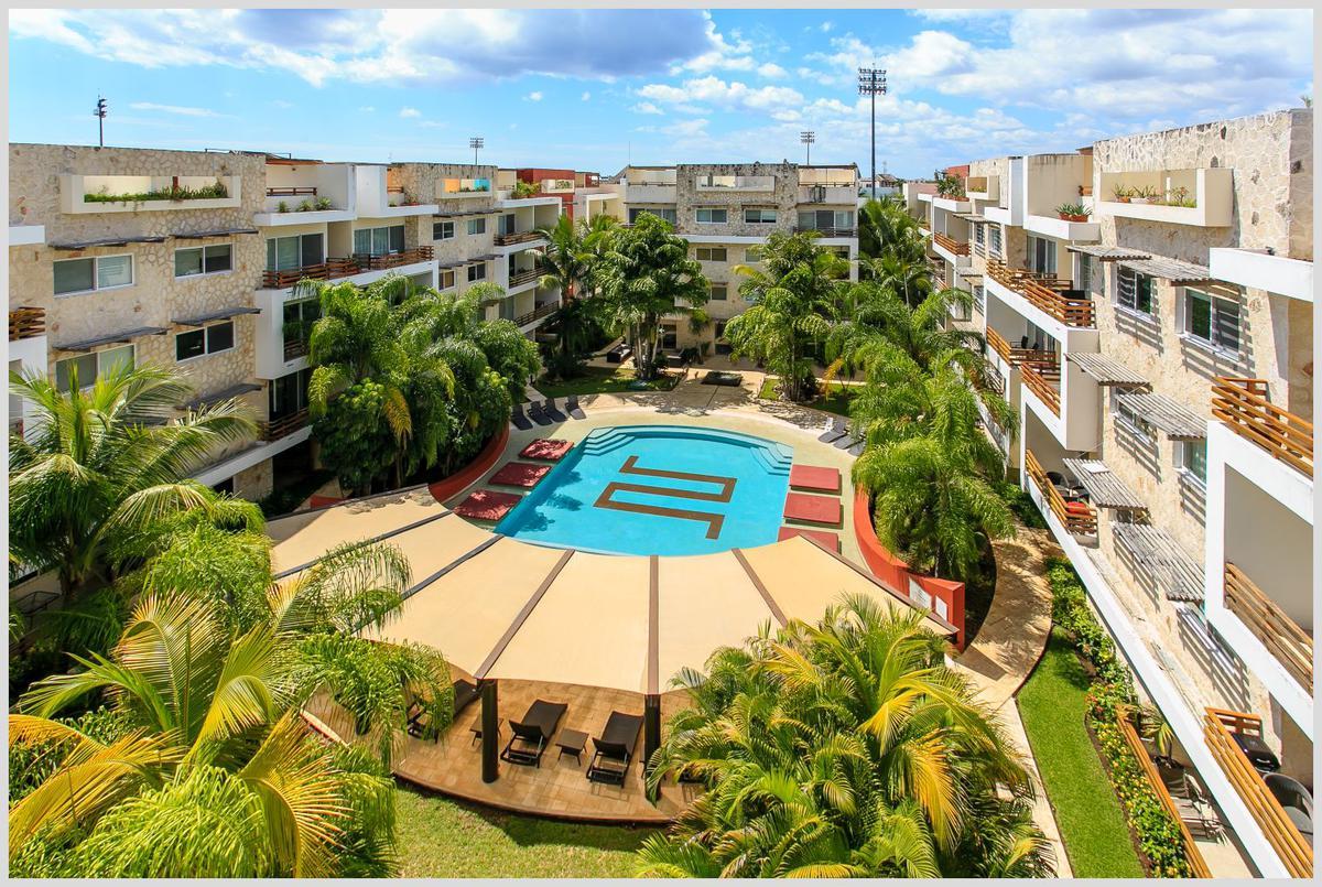 Foto Departamento en Venta en  Playa del Carmen Centro,  Solidaridad  SABBIA 3 rec. con su baño, medio baño, lavadero, balcón /Remodelado