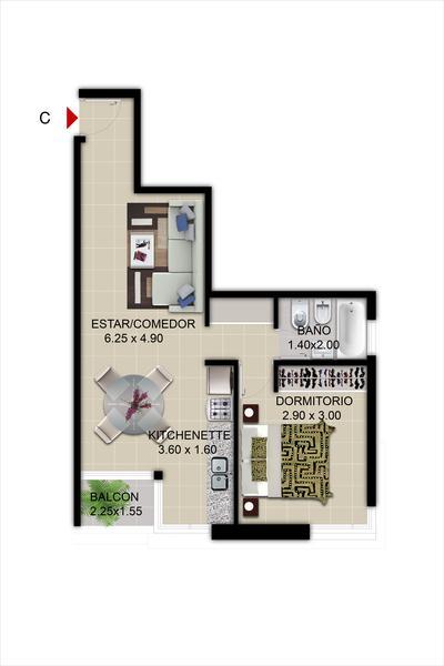 Foto Departamento en Venta en  Nueva Cordoba,  Capital  IGNEA 14- Velez Sarsfield 762