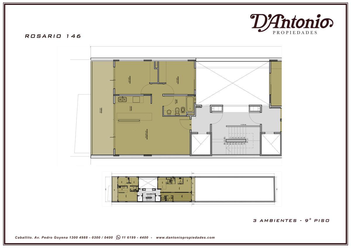 Foto Edificio en Caballito             Rosario 146/48           número 21
