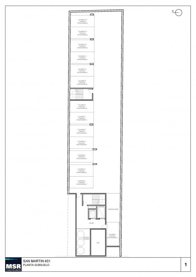 Foto Edificio en Centro San Martin 435 número 6