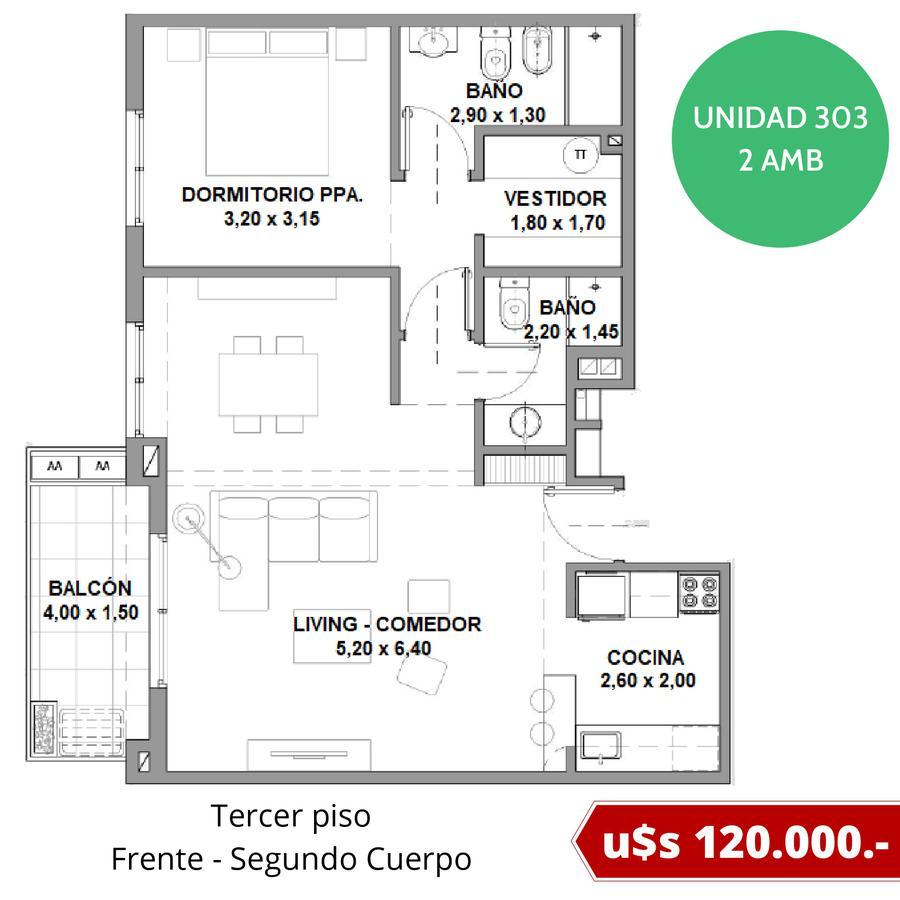 Departamentos con cochera fija en Tigre - Excelente ubicación - Fideicomiso al costo en pesos-12