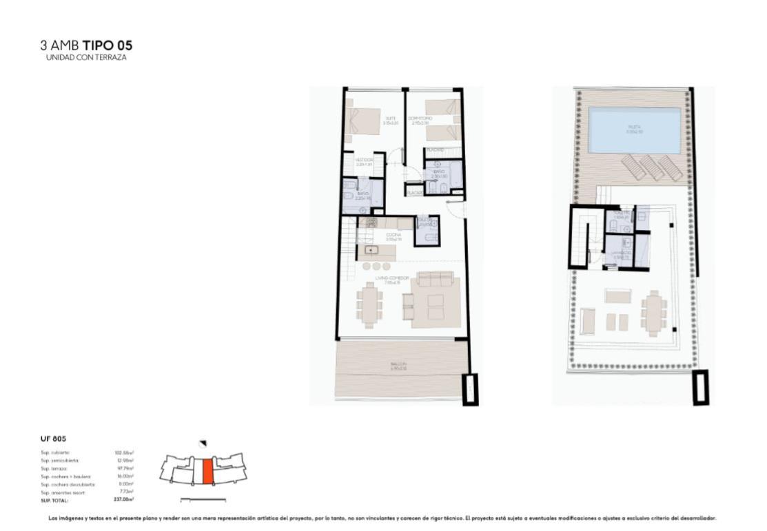 Foto Edificio en Yoo Nordelta YOO3 by ACQUA Excelencia en diseño y confort número 18