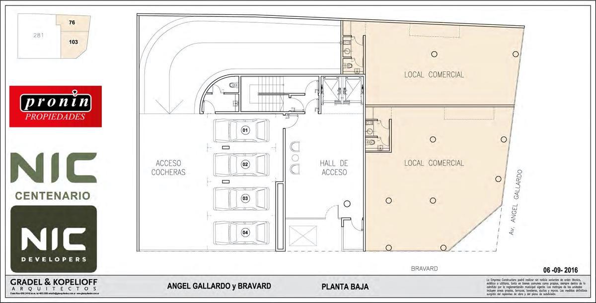 Foto Edificio en P.Centenario             Av Angel Gallardo y Bravard           número 6