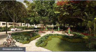 Foto Condominio en Conkal Privada Residenciales  al norte de Mérida en Valle Conkal número 5