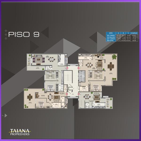 Foto Edificio en Nueva Cordoba             Lanin 9-Fructuoso Rivera 150           número 27
