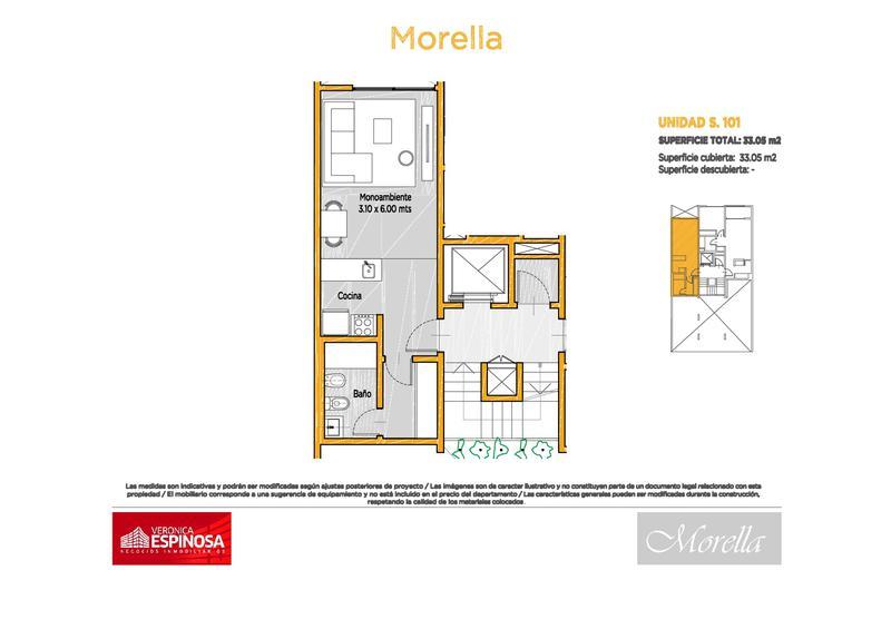 Foto Departamento en Venta en  Moron,  Moron  Manuel de Sarratea  70, S204