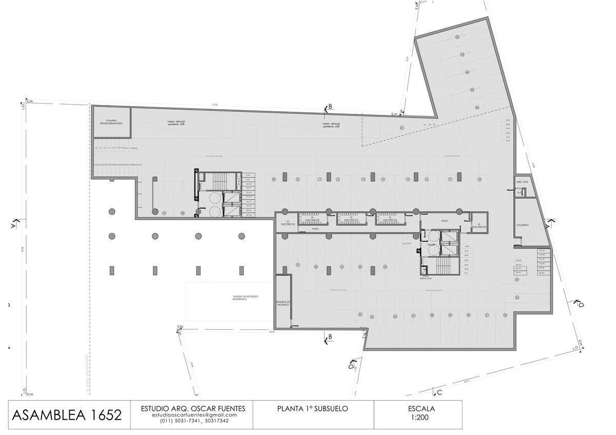 Foto Edificio en Parque Chacabuco Asamblea  1652 número 9