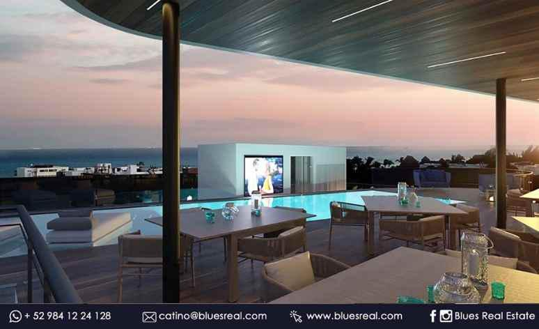 Unit picture Apartment in Sale in  Playa del Carmen,  Solidaridad  For sale in apartments in The Boat in Playa del Carmen | Blues Real | Código 334