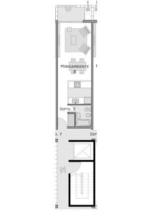Foto Edificio en Adrogue ROSALES AL 1400 entre Cerretti y Plaza Brown número 3