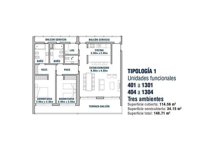 Foto Edificio en Área Centro Este  Belgrano 531 número 15