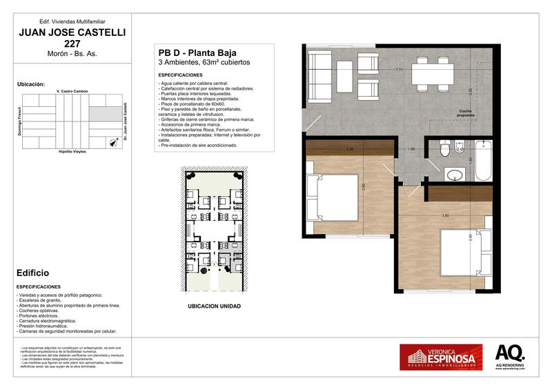 Foto Edificio en Moron Sur Castelli 200 número 24