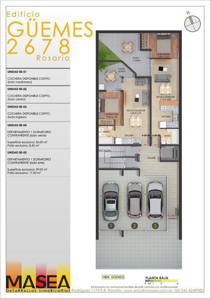 Foto Edificio en Pichincha Guemes 2678 número 4