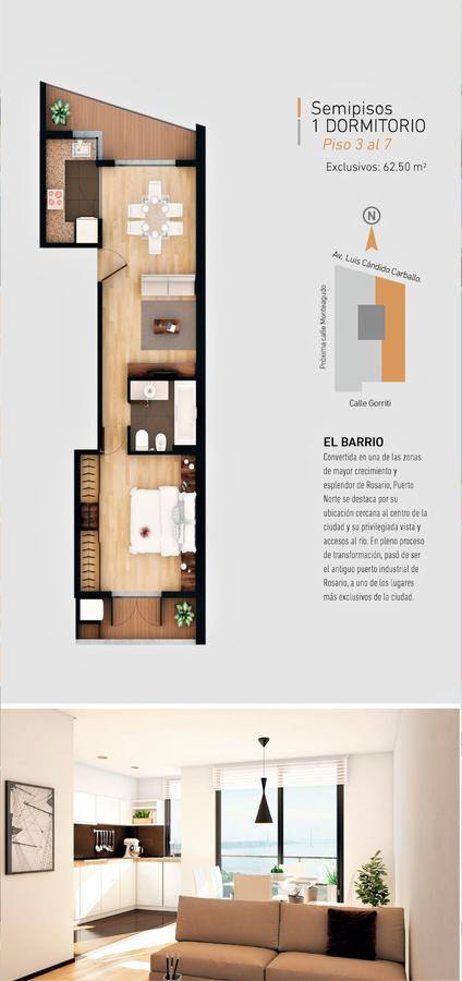 Foto Edificio en Puerto Norte Av. Luis Candido Carballo y Monteagudo número 4