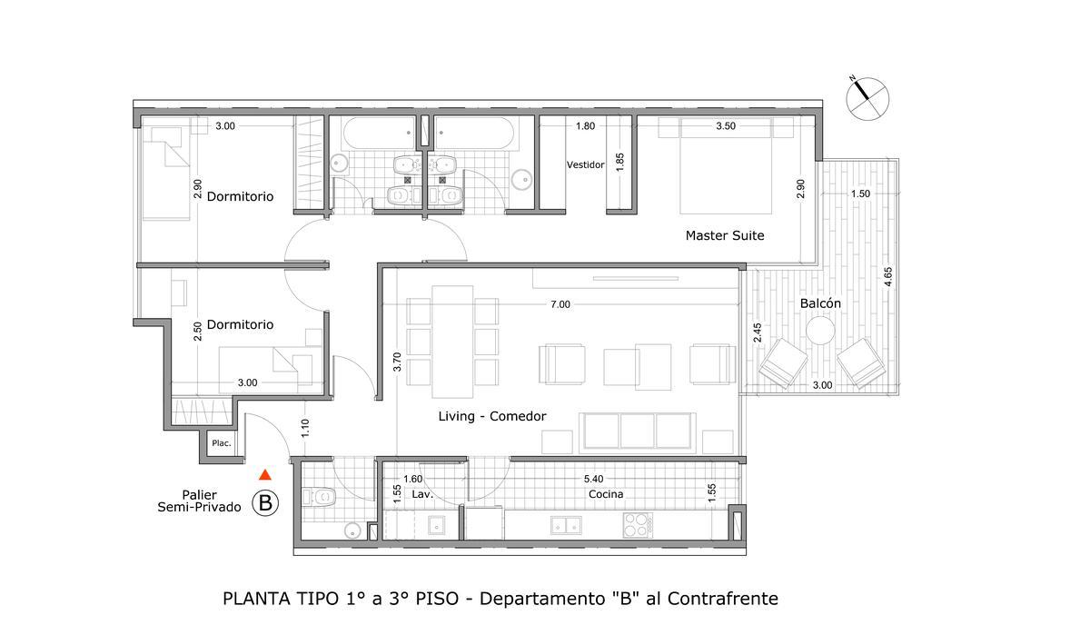 Foto Edificio en Belgrano R Zarraga 3454 número 10