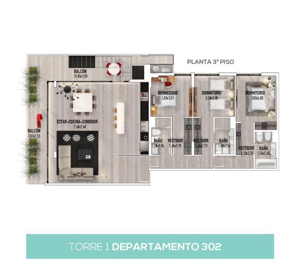 Foto Condominio en Valle Escondido Green Park número 9