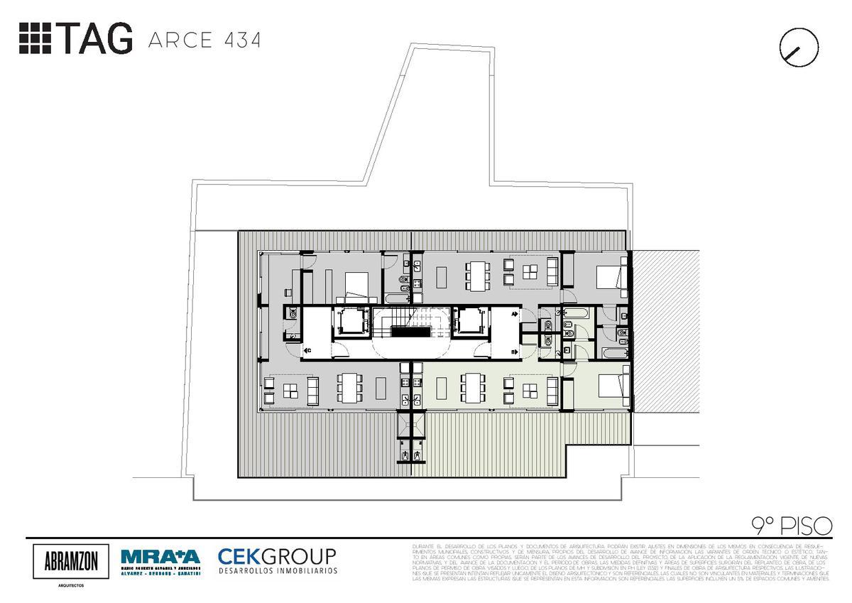 Emprendimiento Arce 434 en Las Cañitas