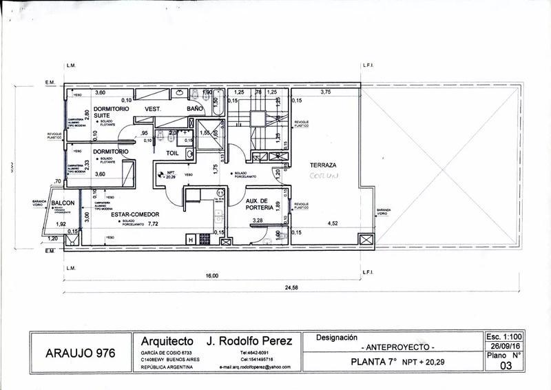 Foto Edificio en Mataderos Araujo al 900 número 26