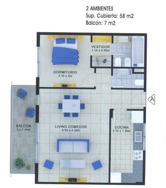 Foto Edificio en Banfield Este Cochabamba 375 número 2
