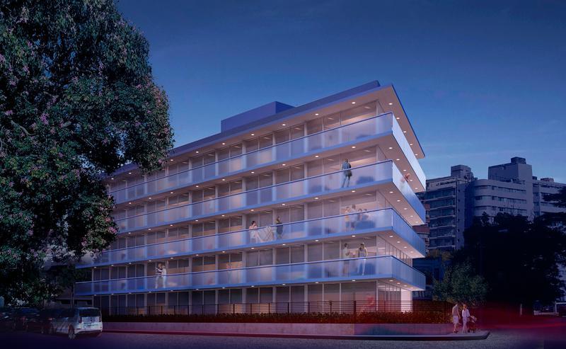 Foto Departamento en Venta en  Puerto Buceo ,  Montevideo  Apartamento Esquinero de 2 dormitorios de 91 m2