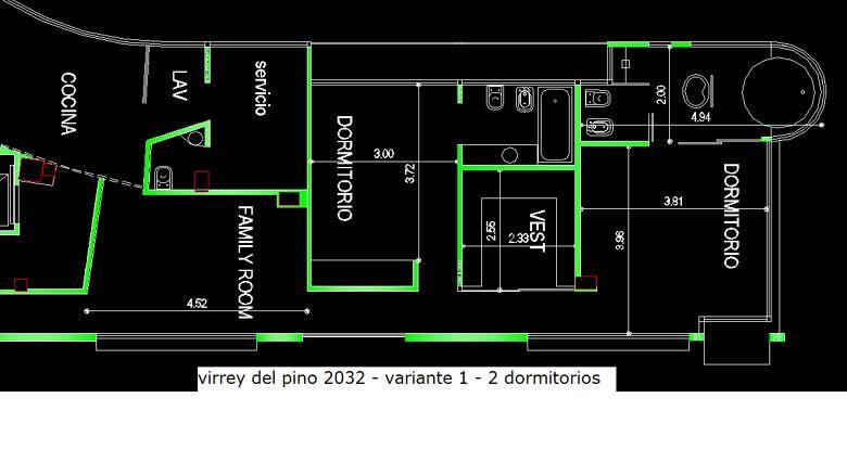 Emprendimiento Virrey del Pino 2036 (y 3 de Febrero) en Belgrano