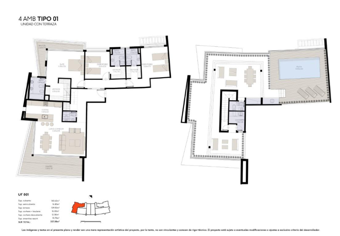 Foto Edificio en Yoo Nordelta YOO3 by ACQUA Excelencia en diseño y confort número 31