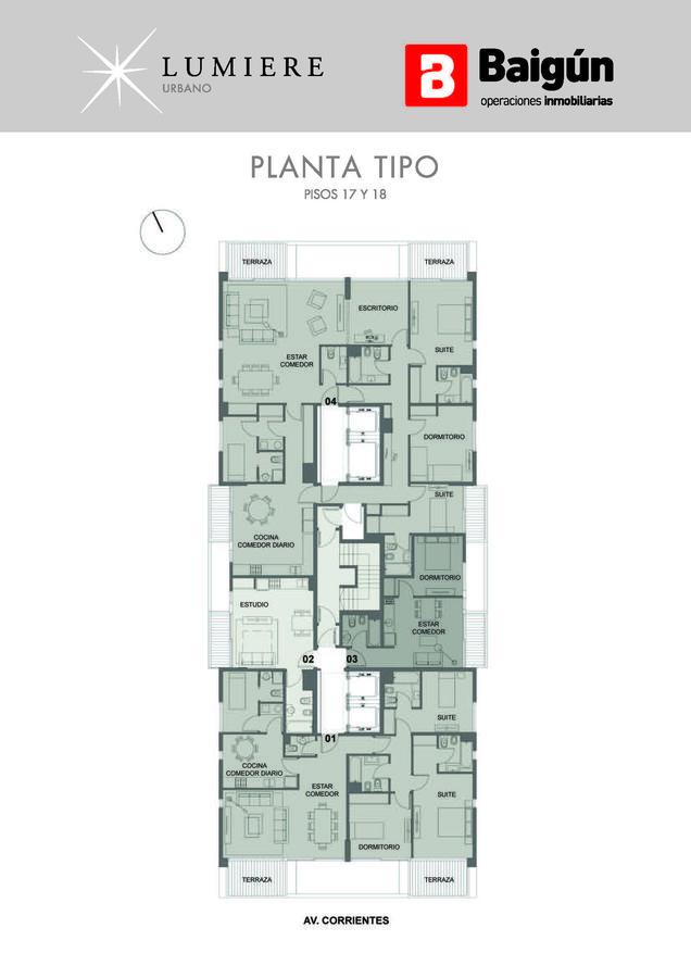 Foto Edificio en Almagro AV. CORRIENTES Y JERÓNIMO SALGUERO  numero 7