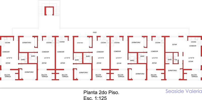 Foto Edificio en Valeria Del Mar Av. Costanera Alte. G. Brown  número 6