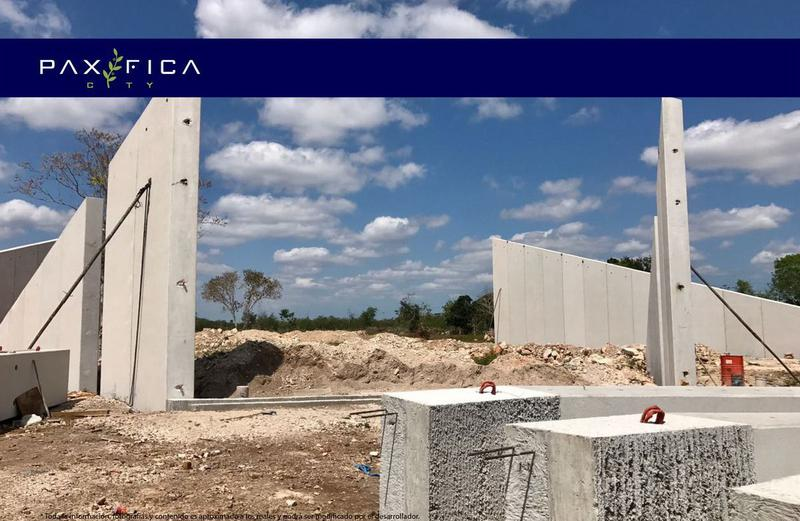 Foto Barrio Privado en Muxupip PAXIFICA CITY se encuentra ubicada al oriente de la ciudad de Mérida, Yucatán, en el municipio de Muxupip a tan solo 18 minutos. Cuenta con una inmejorable ubicación y accesibilidad gracias a la carre número 10