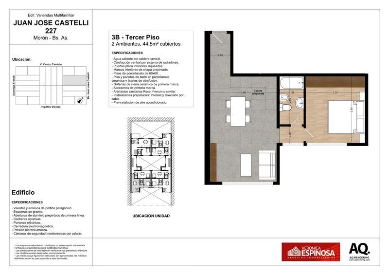 Foto Edificio en Moron Sur Castelli 200 número 25