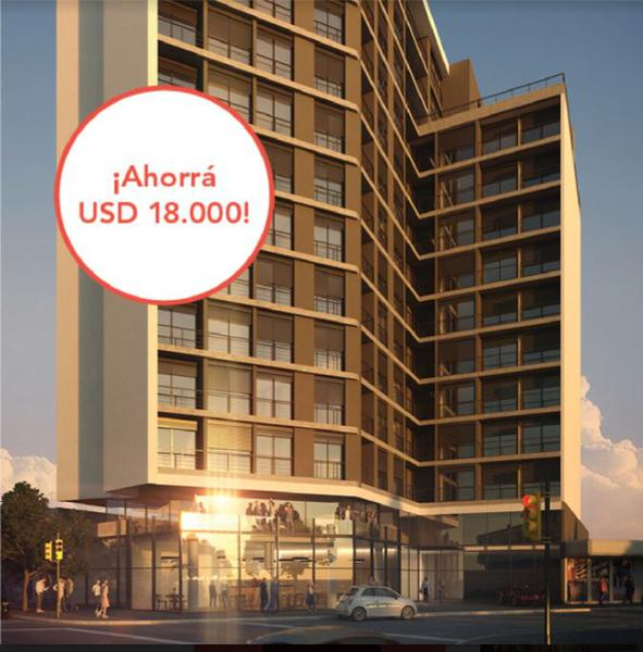 Foto Departamento en Venta en  Cordón ,  Montevideo  Unidad 211 Apartamento De 1 Dormitorio En Venta
