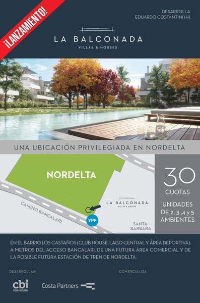 Foto  en La Balconada Nordelta, villa 12 100