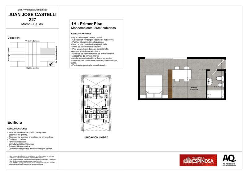 Foto Edificio en Moron Sur Castelli 200 número 5