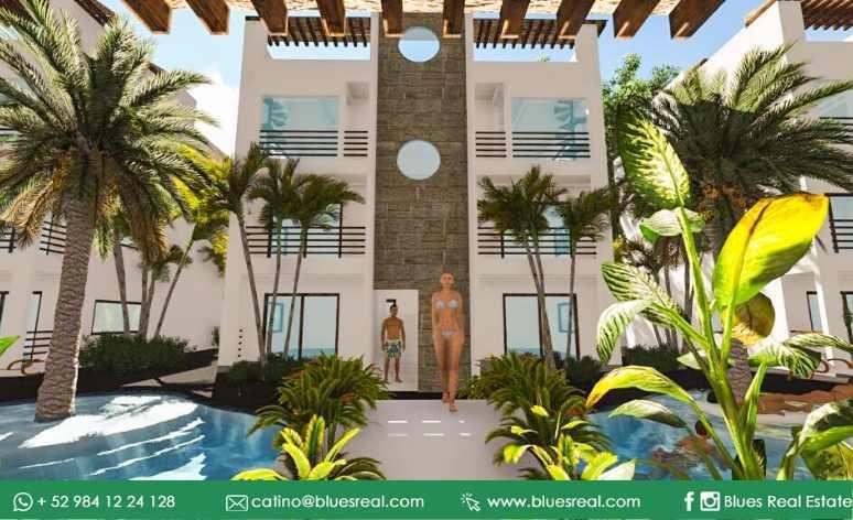 Unit picture Apartment in Sale in  Tulum ,  Quintana Roo  For sale apartments in Condos 8 Tulum | Code 472