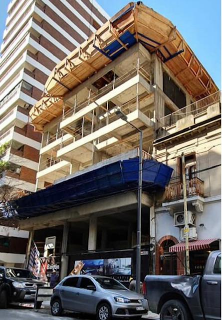 Foto Edificio en Belgrano Jorge Newbery y Migueletes número 8