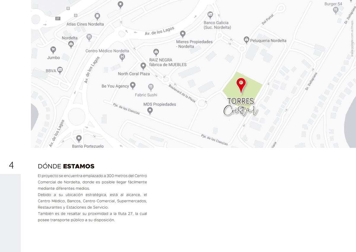 Foto Departamento en Venta en  Nordelta,  Countries/B.Cerrado (Tigre)                                  Del Portal y Del Ciudadano , Torres Cristal Nordelta, Departamento de 4  ambientes, balcon, UF 19 2do  F