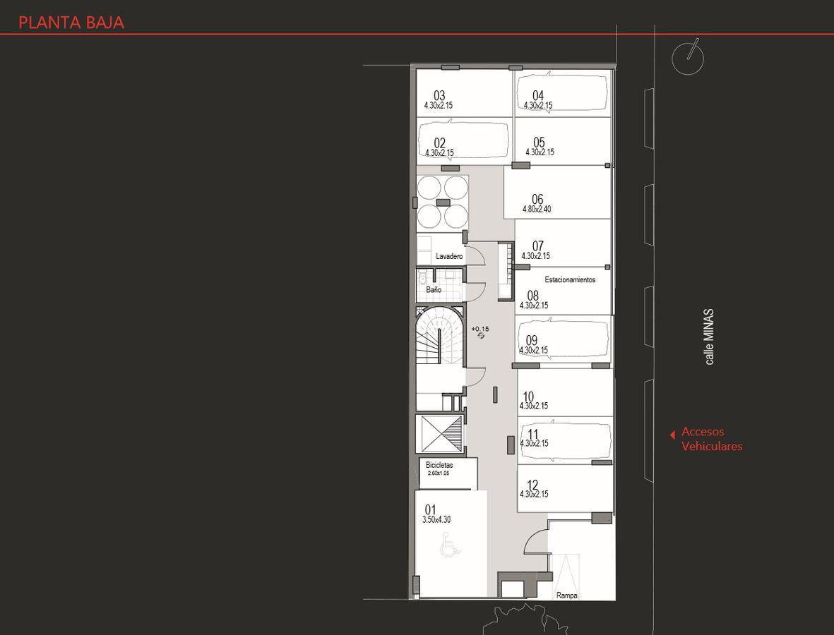 Foto Edificio en Cordón Apartamentos de 1 y 2 dormitorios SOHO Minas número 2