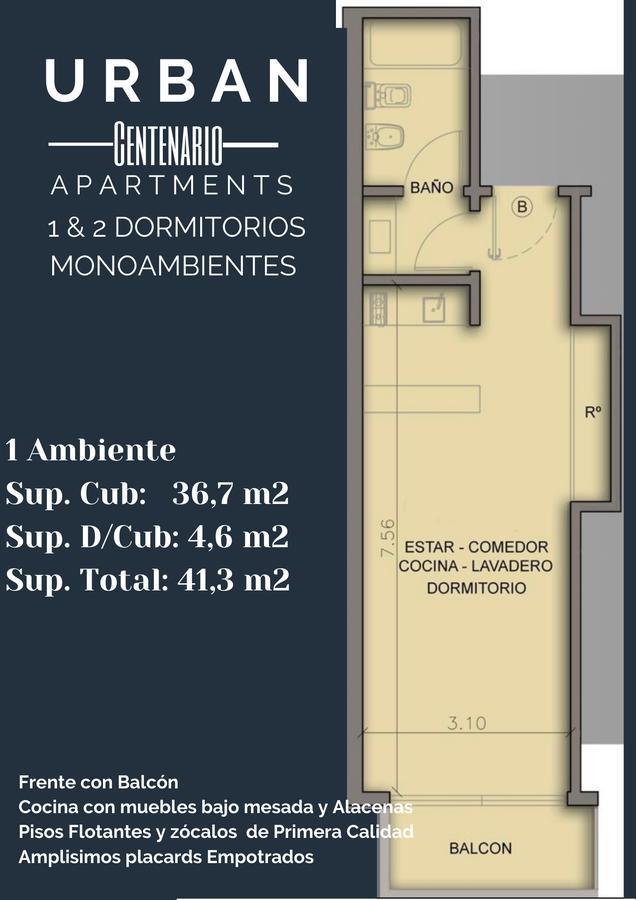 Foto Edificio en P.Centenario FRANKLIN y RIO DE JANEIRO número 4