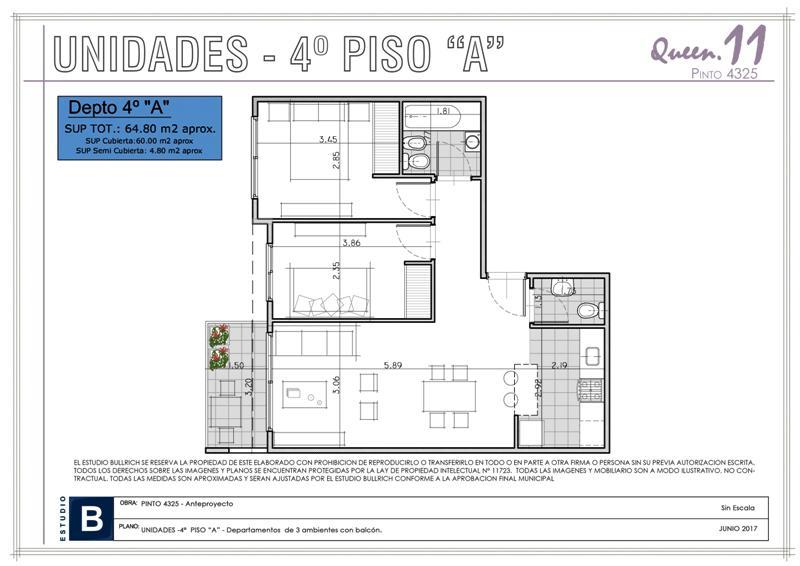 Foto Edificio en Saavedra Pinto 4300 número 14