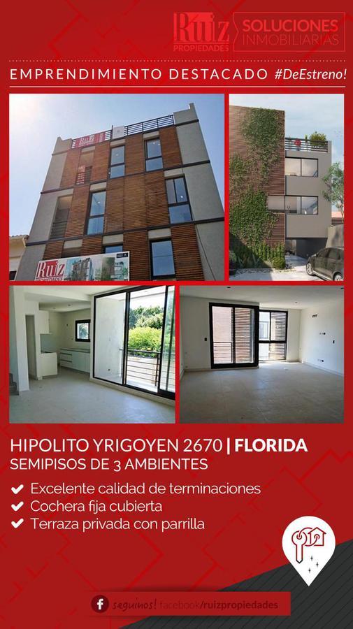 Foto Departamento en Venta en  Florida Mitre/Este,  Florida  Hipólito Yrigoyen 2670 3° A