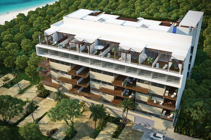 Foto Casa en Venta en  Solidaridad ,  Quintana Roo  Cruz con Mar desde 1 rec con 82.94 m2