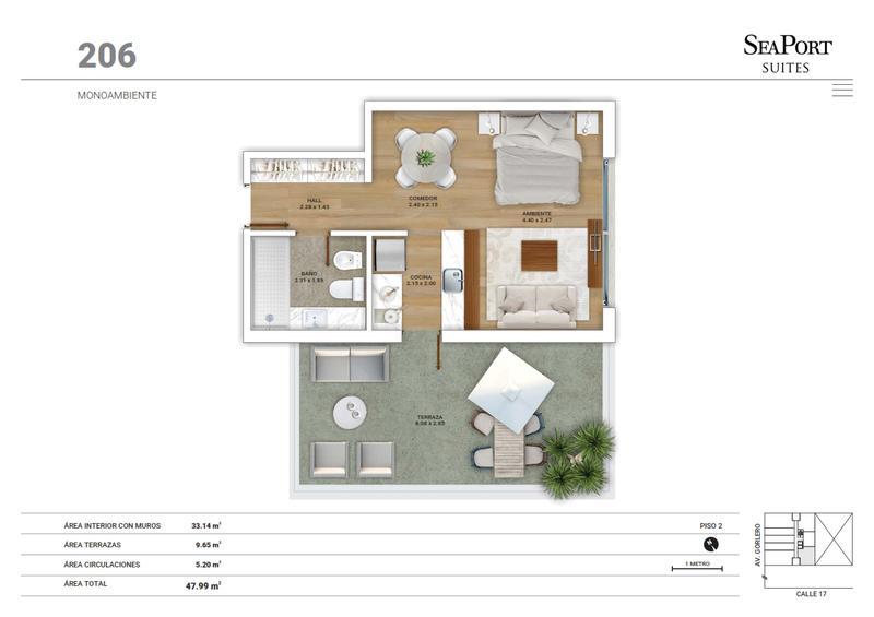 Foto Edificio en Península GORLERO ENTRE 17 Y 19 numero 17