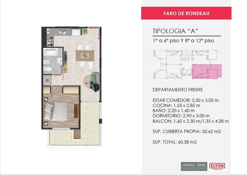 Foto Edificio en Nueva Cordoba Faro de Rondeau |  Rondeau 533 número 8