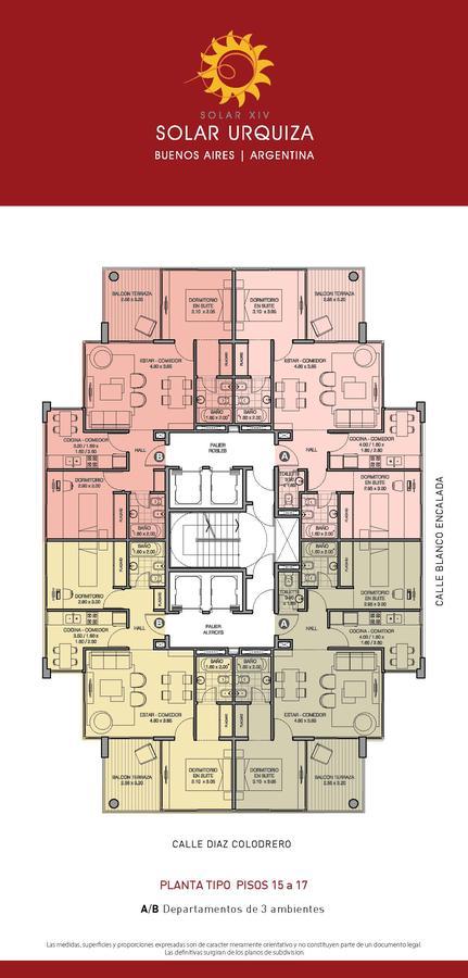 Foto Edificio en Villa Urquiza BLANCO ENCALADA ESQ. DIAZ COLODRERO numero 33